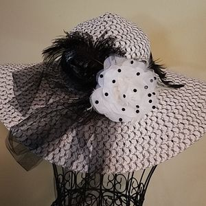 Beautiful Hat, I wore it to the Kentucky Derby!